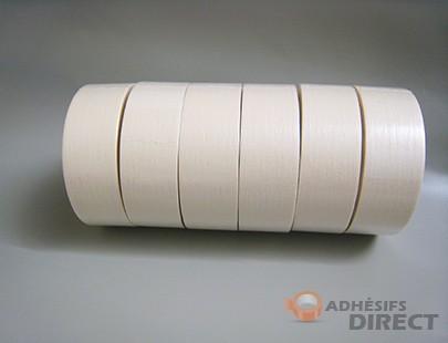 Adhesif de Masquage jusqu'à 80° - 75mm x 50m - Ruban de masquage - rouleau adhésif décoratif - scotch de peintre