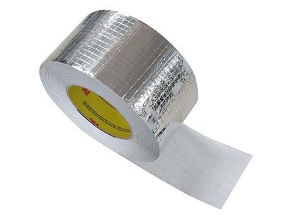 Adhesif aluminium - 50mm x 50m  - rouleau adhesif - ruban adhesif