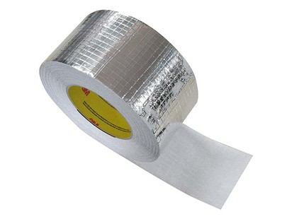 Adhésif aluminium - 75mm x 50m - rouleau adhesif - ruban adhesif