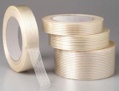 Adhésif armé fil à fil - 50mm x 50m - rouleau adhesif - ruban adhesif transparent