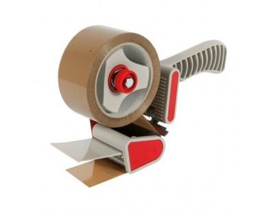 Dévidoir manuel pour ruban adhésif d'emballage - largeur 50mm