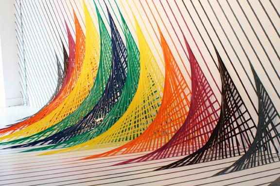adhesif imprimé coloré