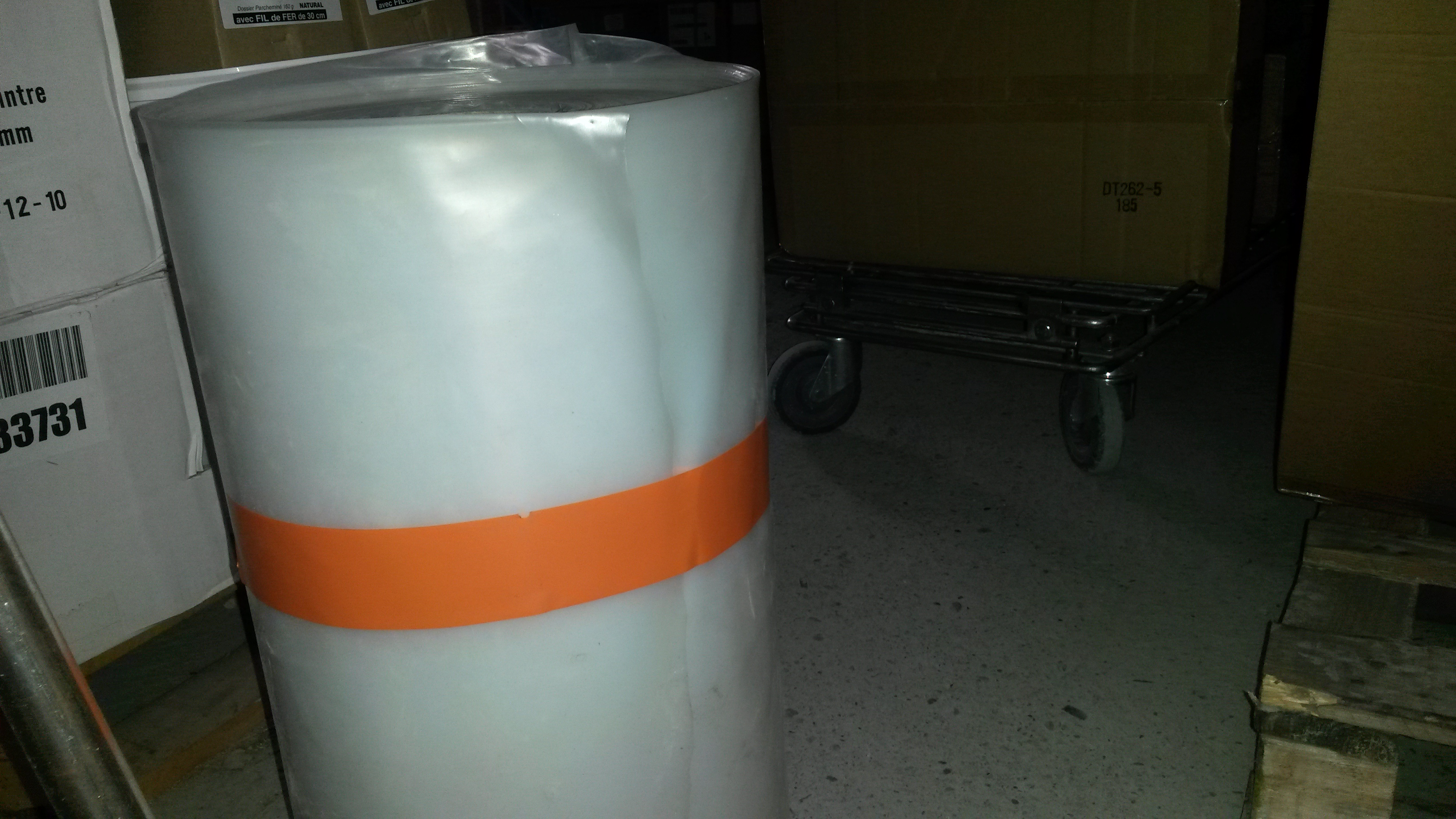 adhésifs pvc orange